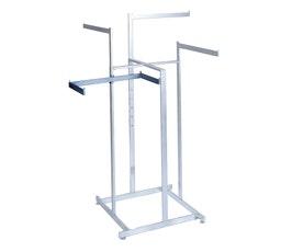 Twist-On Shelf Support Bracket - Rectangular Tubing