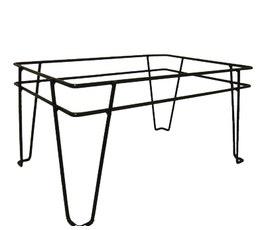 Shopping Basket Stand - Large - Black