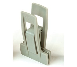 Plastic Clips - Slimline - Grey