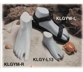 Sandal Form - Children's Sport Left - Gray Sprinkle