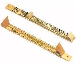 Shoe Measuring Device - Wooden