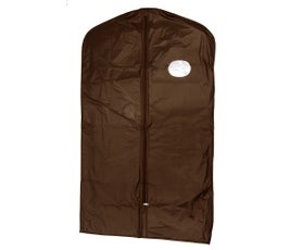 "Garment Cover - Suit - 40"" Brown Poly"