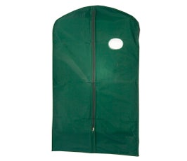 "Garment Cover - Suit - 40"" Green Poly"