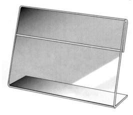 "Card Holders - Slanted Acrylic - 7"" x 11"""