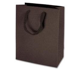 Eco Euro Shopping Bags - Medium - Espresso