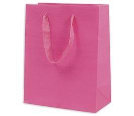Eco Euro Shopping Bags - Medium - Fuchsia