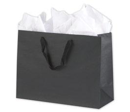 Eco Euro Shopping Bags - Large - Black