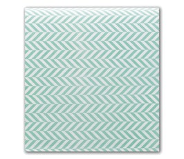 Blue Herringbone Tissue Paper