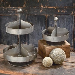 Vintage and Industrial Style Trays and Display Standss