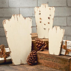 Shabby Chic Wooden Neck Forms