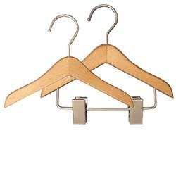 Mini Wooden Hangers