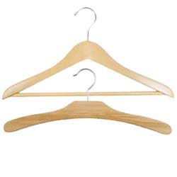Traditional Wooden Hangers
