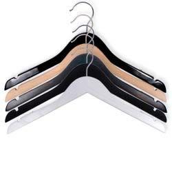NAHANCO Wooden Hangers