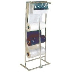 Garment Bag Dispenser Racks for Poly Bags